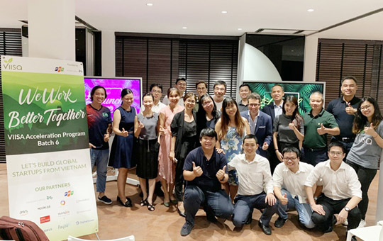 Five Vietnamese startups join VIISA Acceleration Program